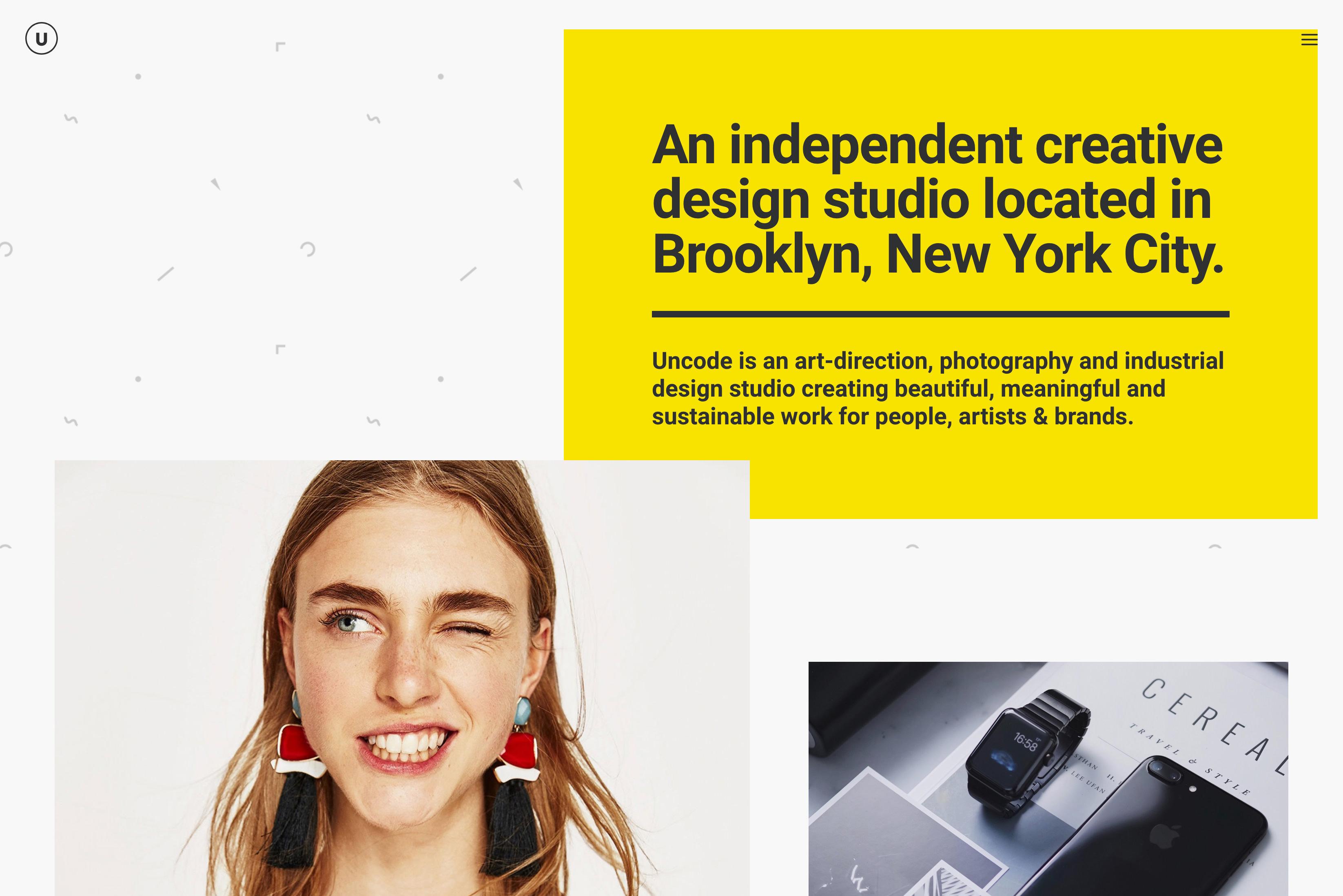 demo content homepage Portfolio Bureau Uncode