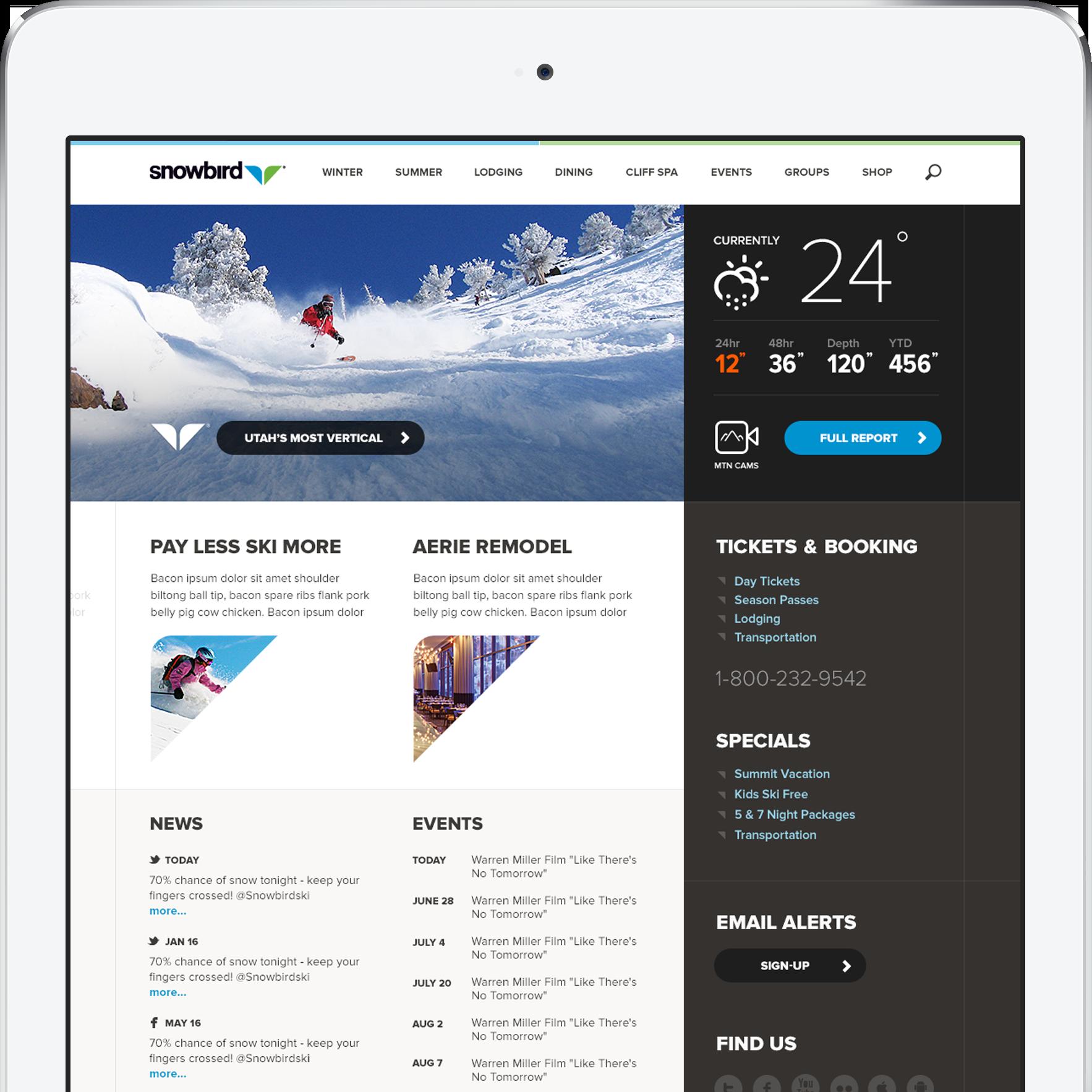 iPad Air 2 Mockup Work 3b