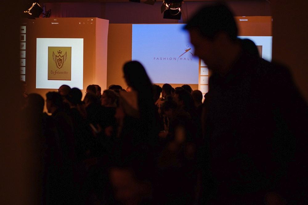 Ekrany powitalne na Berlin Fashion Week