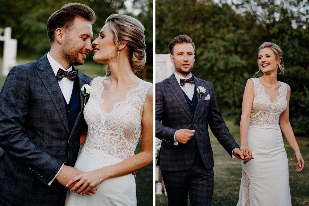 kadry plenerowe pary ślubnej